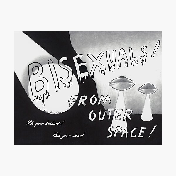 From Outer Space! Photographic Print