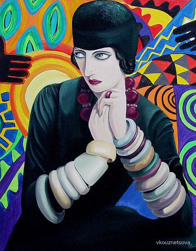 Nancy Cunard by vkouznetsova