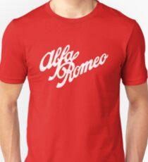 Alfa Romeo classic (white) Unisex T-Shirt