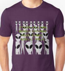 ALIEN FOREIGN RELATIONS  Unisex T-Shirt