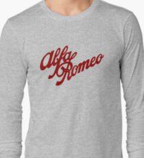 Alfa Romeo classic (red) Long Sleeve T-Shirt