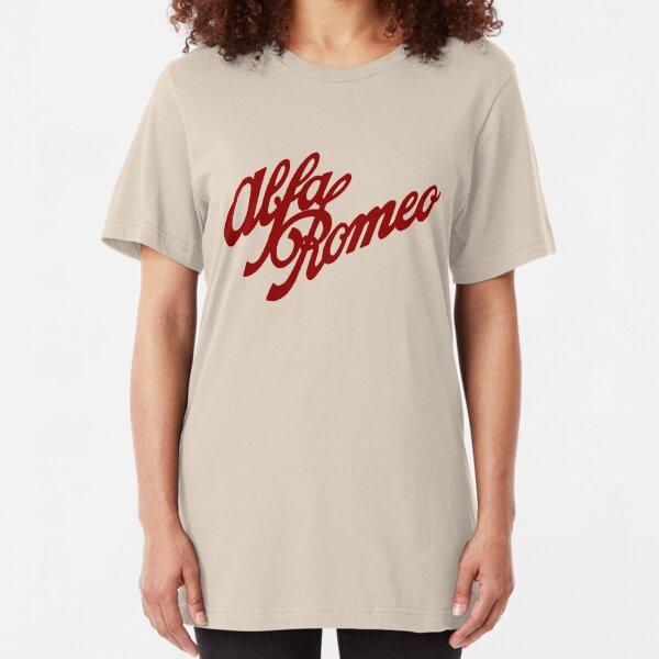 Alfa Romeo classic (red) Slim Fit T-Shirt