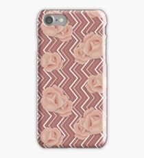 Rose Zig-Zag Pattern iPhone Case/Skin