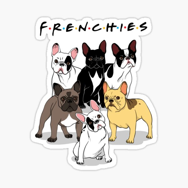 FRENCHIES Sticker