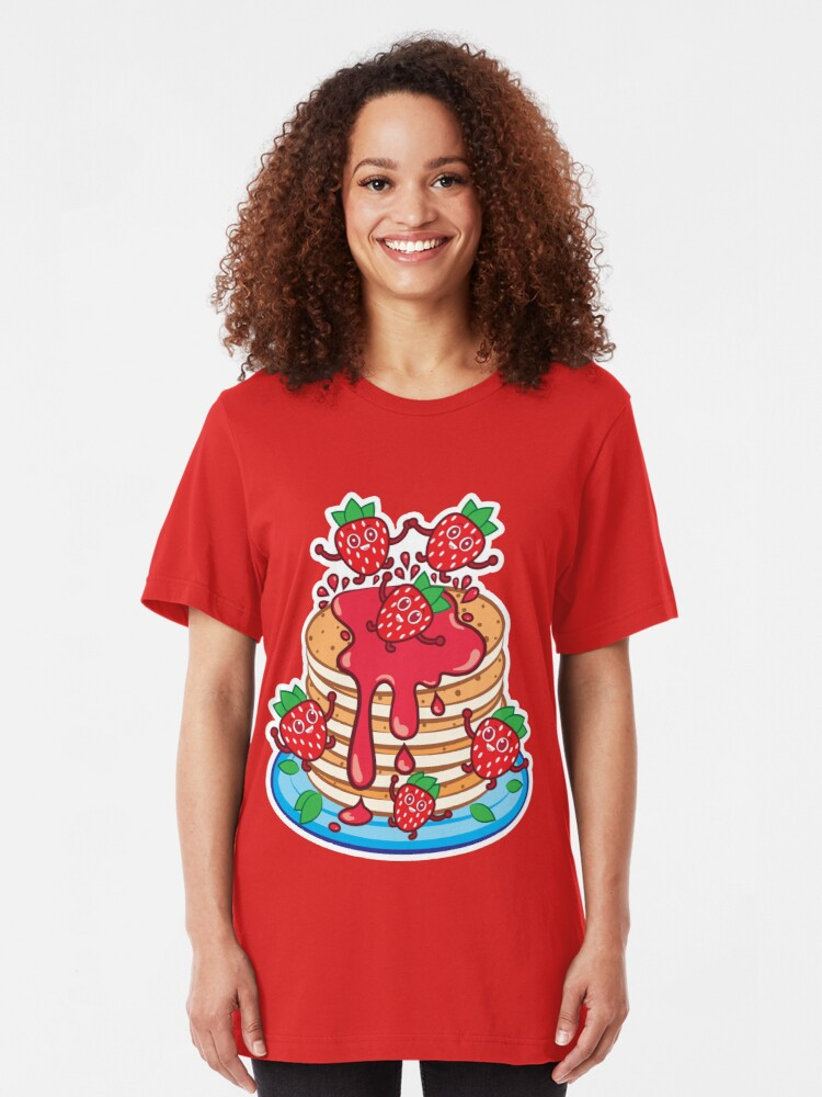 Alternate view of Pancakes Slim Fit T-Shirt