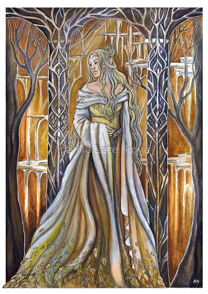 Queen of the elven realm by jankolas