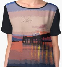 Dawn of a new day Chiffon Top