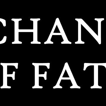 A Chance of Fate Simple Text Logo Collection by achanceoffate