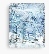 WINTERY Canvas Print