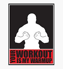 Workout Photographic Print