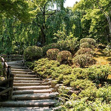 Japanese garden by RodVentura