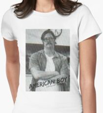 Edmund Kemper - American Boy Womens Fitted T-Shirt