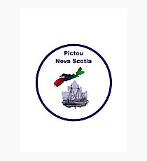 Pictou Nova Scotia Design Photographic Print