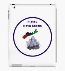 Pictou Nova Scotia Design iPad Case/Skin