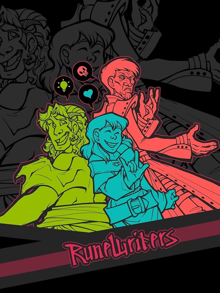 Runewriters: Power Trio by shazzbaa