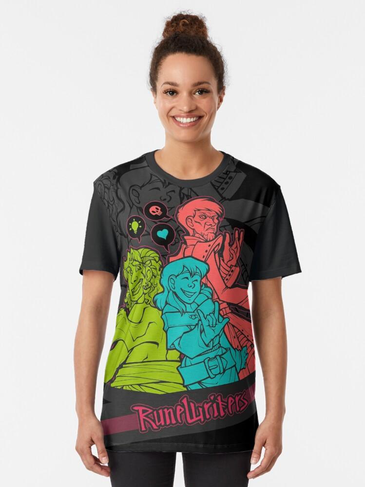 Alternate view of Runewriters: Power Trio Graphic T-Shirt