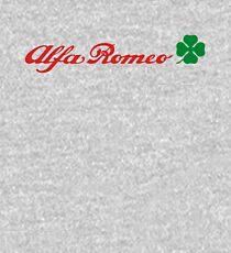 Alfa Romeo Quadrifoglio (red) Kids Pullover Hoodie