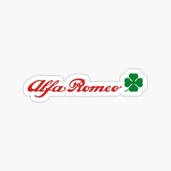 Alfa Romeo Quadrifoglio (red) Sticker