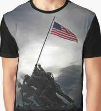 Marine Corps War Memorial Graphic T-Shirt