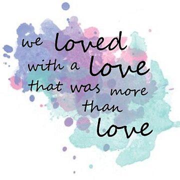 More Than Love by booknerdmerch