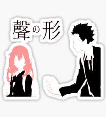 A Silent Voice - Shoko and Shoya Sticker