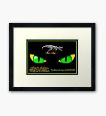 JURASSIC MESOZOIC: Age of Dinosaurs Abstract Print Framed Print