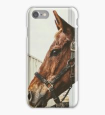Nighttime Caller - into the grey day iPhone Case/Skin