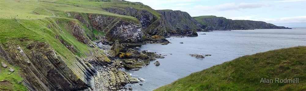 Looking North from St Abbs by Alan Rodmell