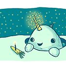 Magic narwhal by coseillustrate