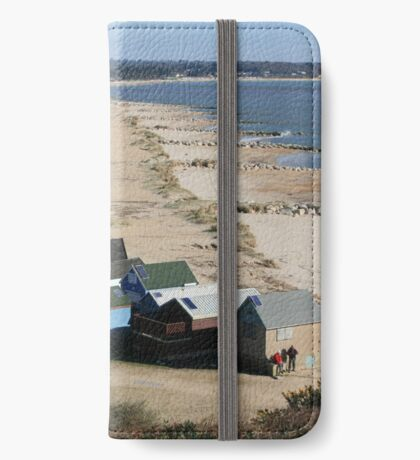 Mudeford Sands iPhone Wallet