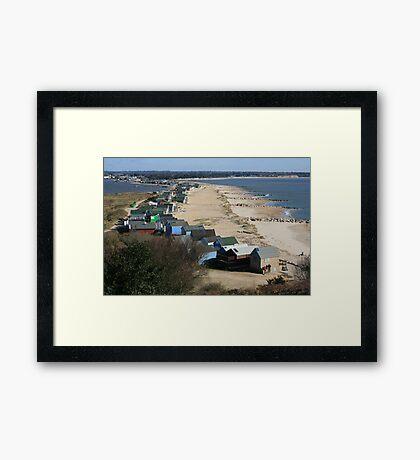 Mudeford Sands Framed Print