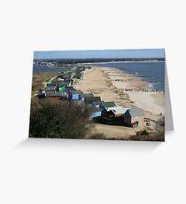 Mudeford Sands Greeting Card