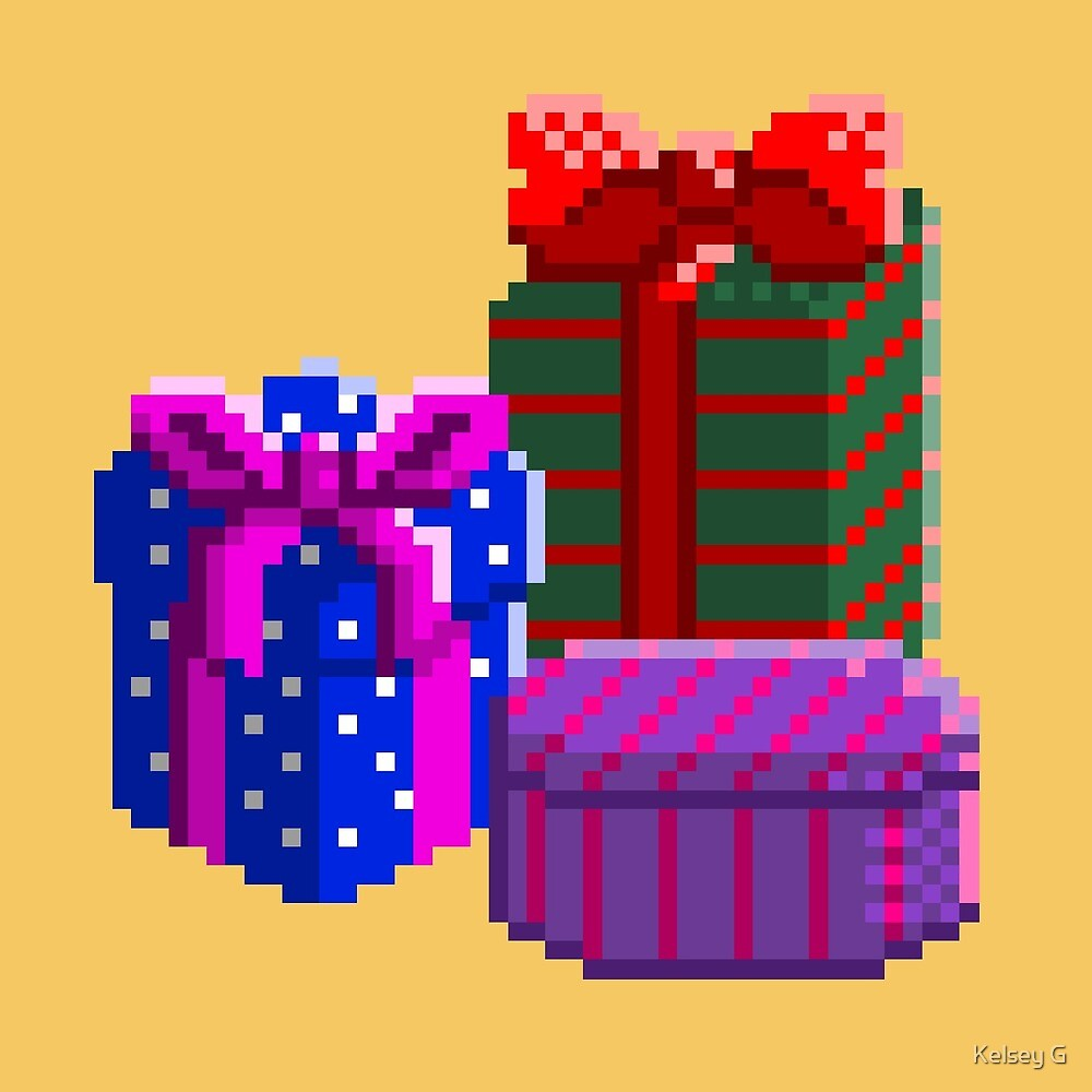 Pixel Presents  by Kelsey G