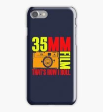 35MM iPhone Case/Skin
