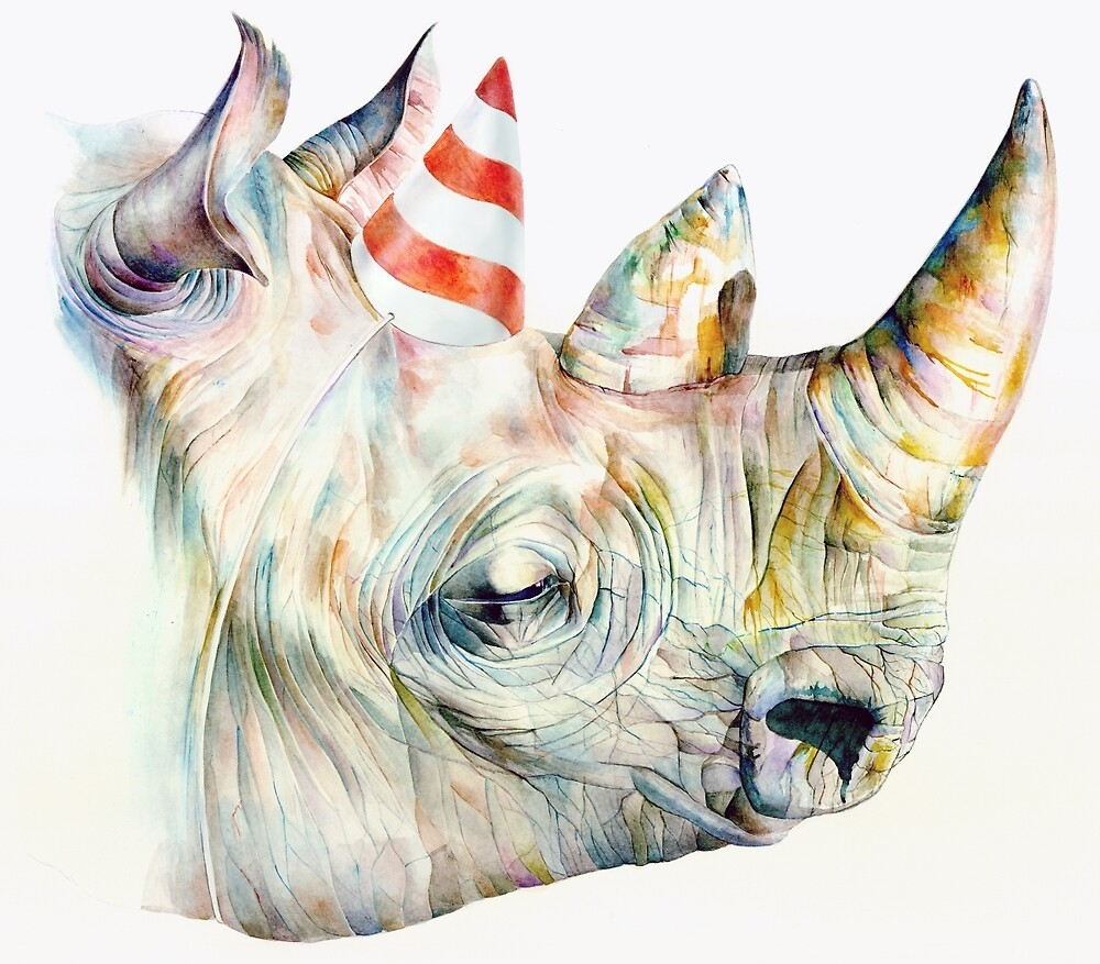 Rhino Party by Brandon Keehner