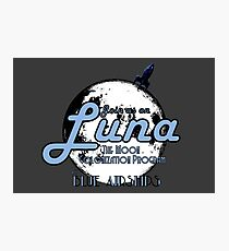 Join Us On Luna 2 Photographic Print