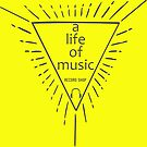 a life of music - record shop by WildRoots