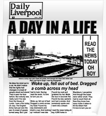 A Day In a Life - The Beatles Shirt Poster