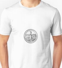 2011 Pennsylvania Gettysburg Quarter Print - Mugs, Stickers, Journals, Shirts T-Shirt