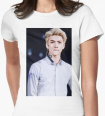 Sehun - EXO  Womens Fitted T-Shirt