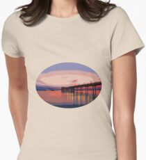 Dawn of a new day Womens Fitted T-Shirt