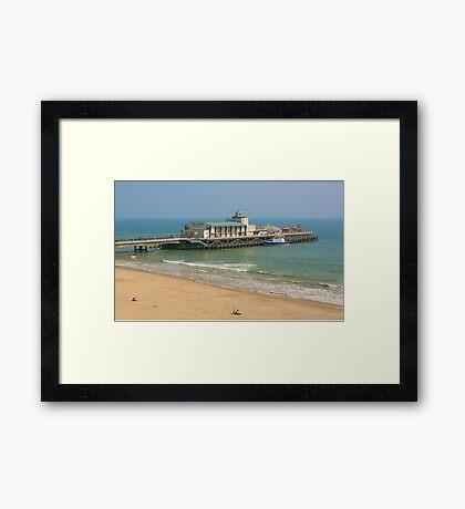 Bournemouth Pier Framed Print