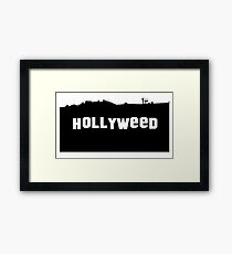 Hollyweed - T-shirt Framed Print