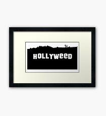 Hollyweed - T-shirt Framed Print