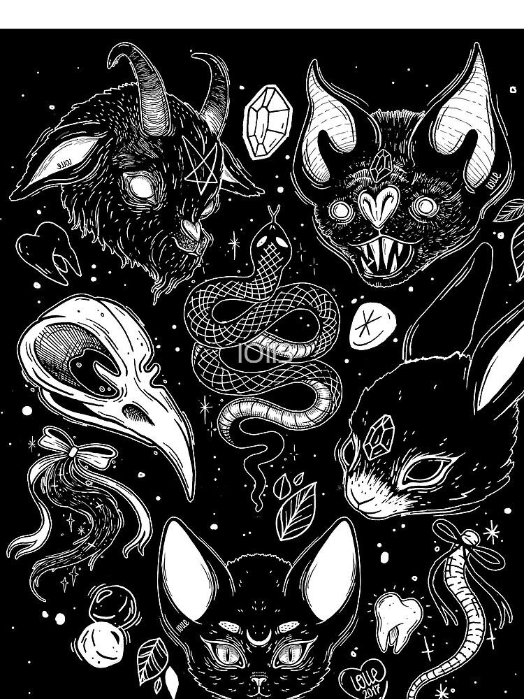 FAMILIAR SPIRITS by lOll3
