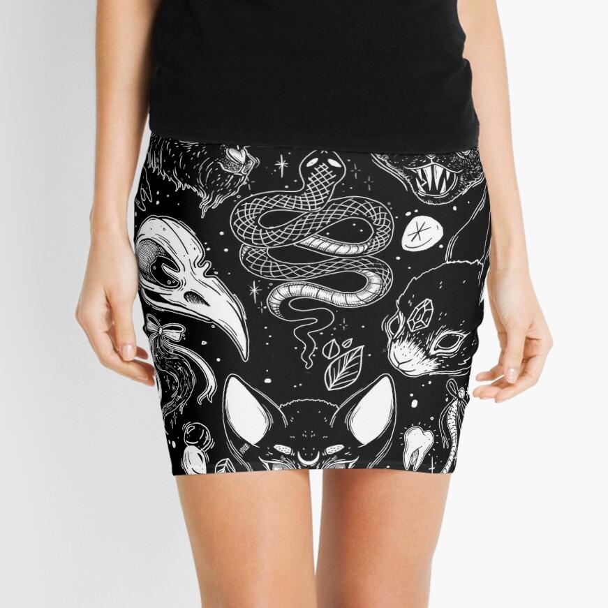 FAMILIAR SPIRITS Mini Skirt