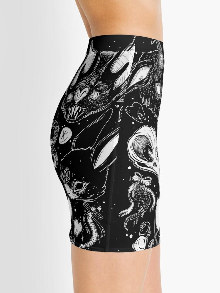 Alternate view of FAMILIAR SPIRITS Mini Skirt