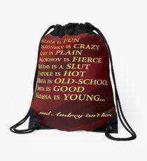 Great Comet Prologue Drawstring Bag