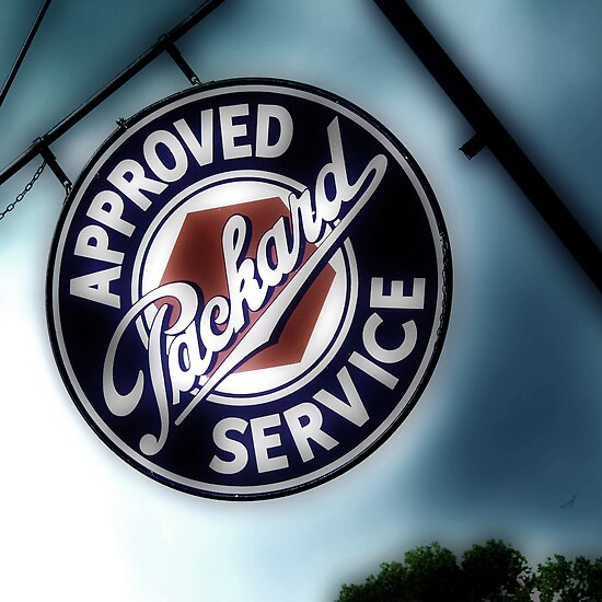 packard service, route 66, afton, oklahoma by brian gregory