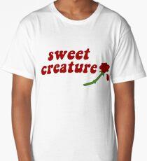 Sweet Creature Rose Design Long T-Shirt